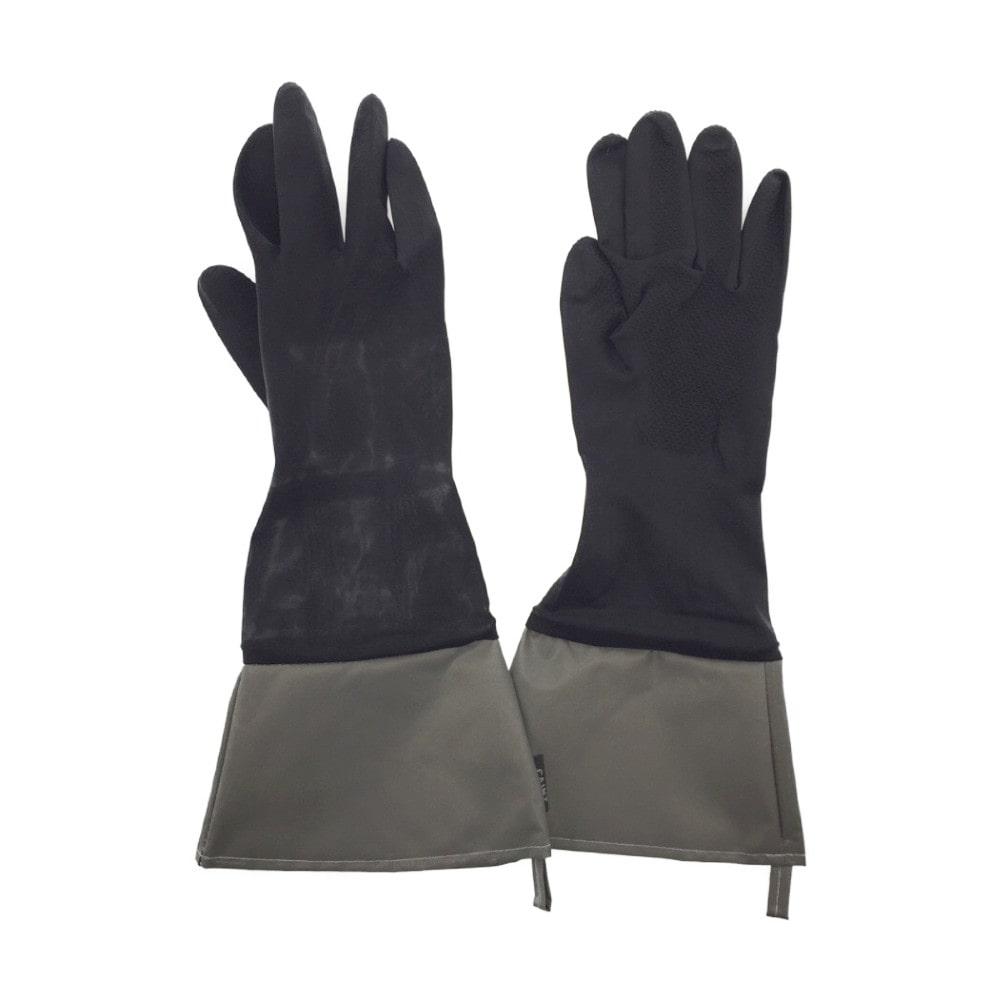洗車用ゴム手袋L(BK)GT-1140BK