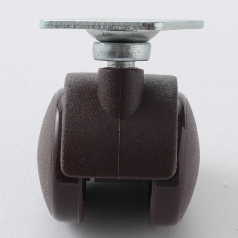 双輪ナイロンキャスター 30mm(自在)SJ30BR