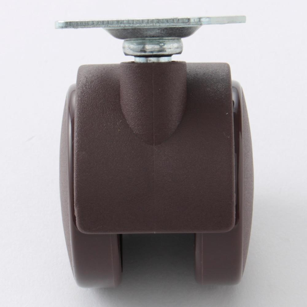 双輪ナイロンキャスター 50mm(自在)SJ50BR