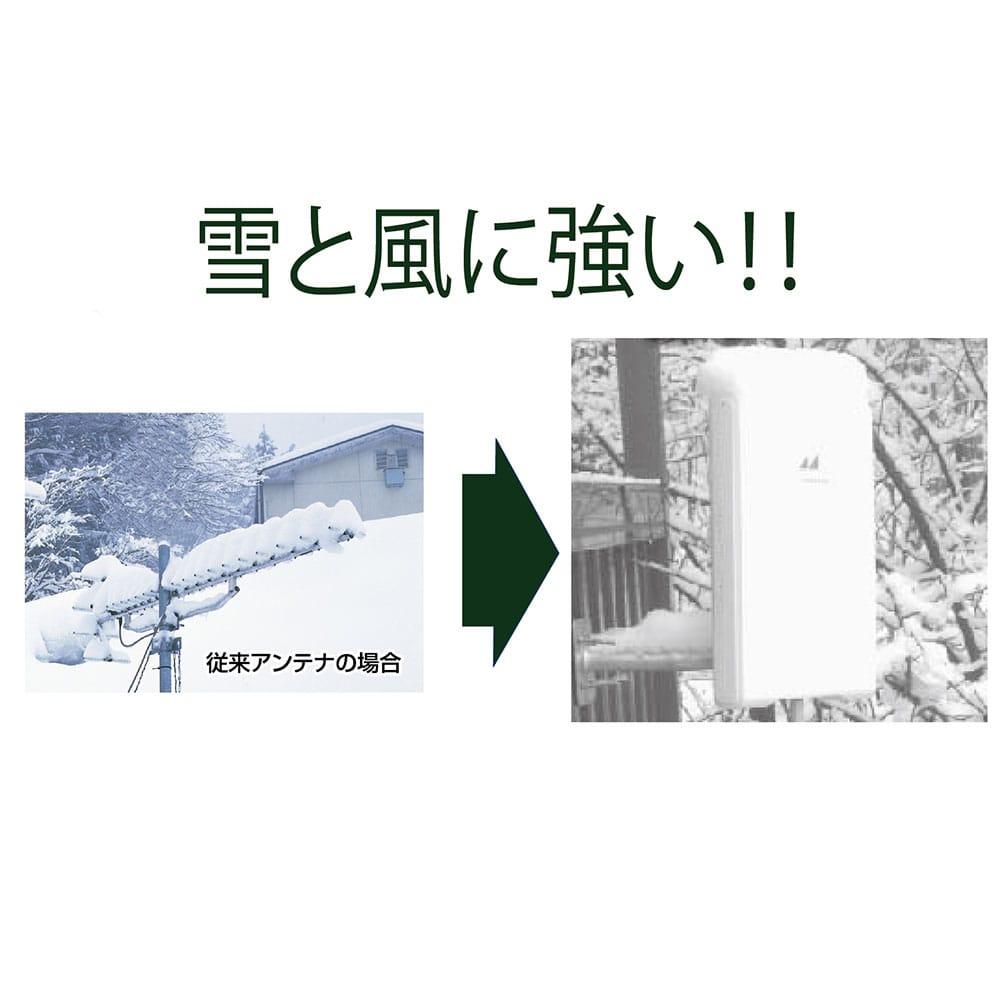日本アンテナ 地デジアンテナ薄型平面アンテナ UDF85【別送品】
