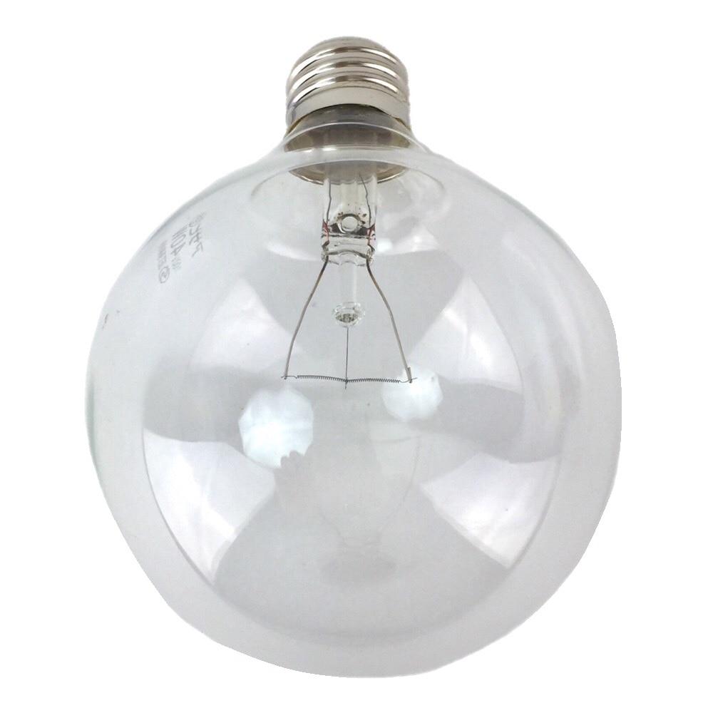 白熱ボール電球 40W E26 G95 クリア LB-G9640K-CLL