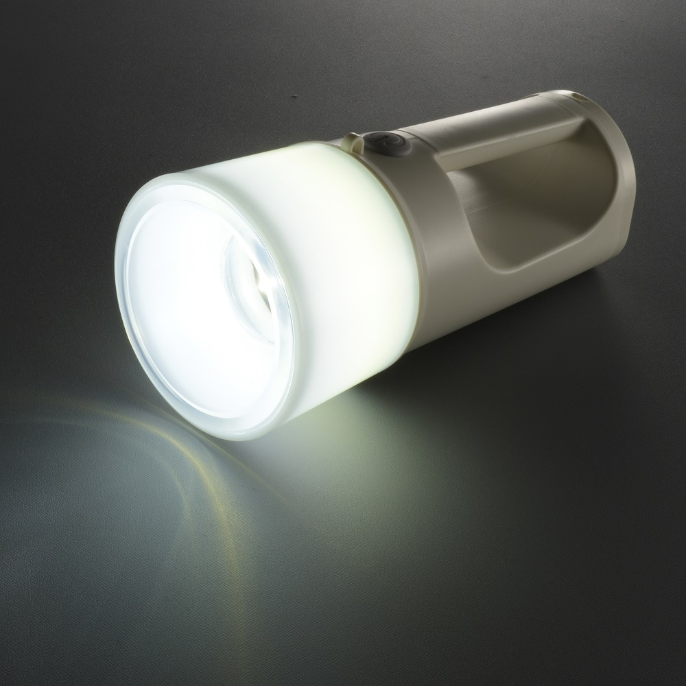 オーム電機 LEDトーチライト ランタン 275lm LH-S24-W 08-0833