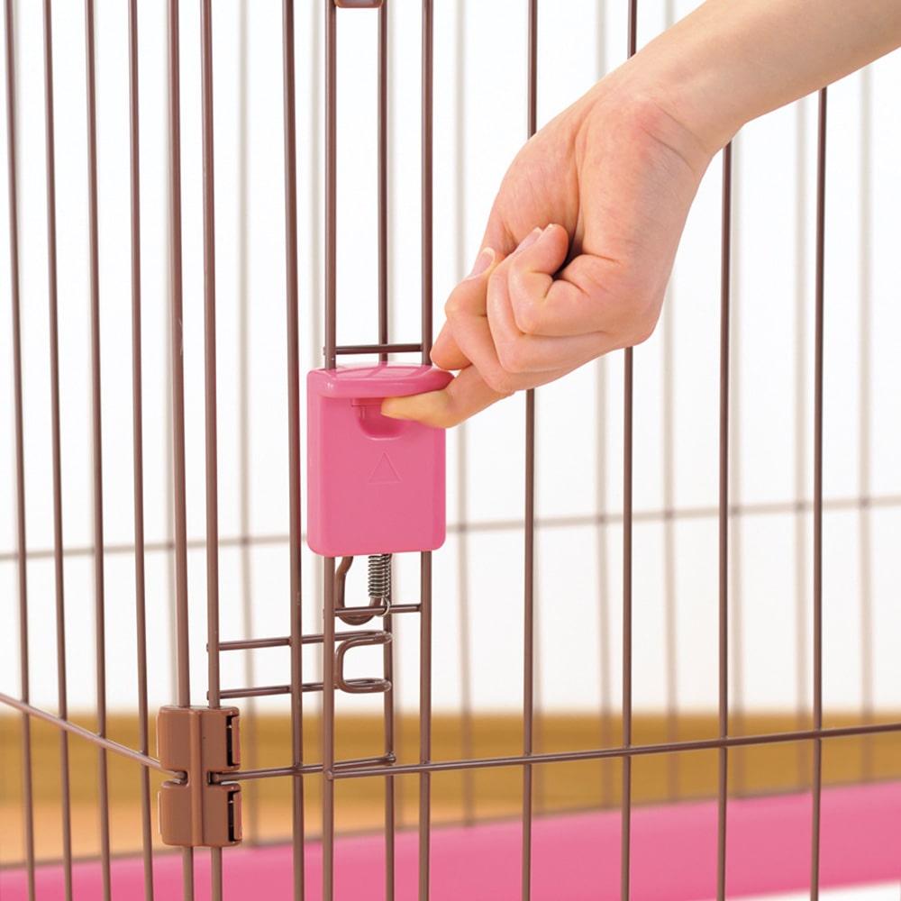 お掃除簡単サークル ピンク