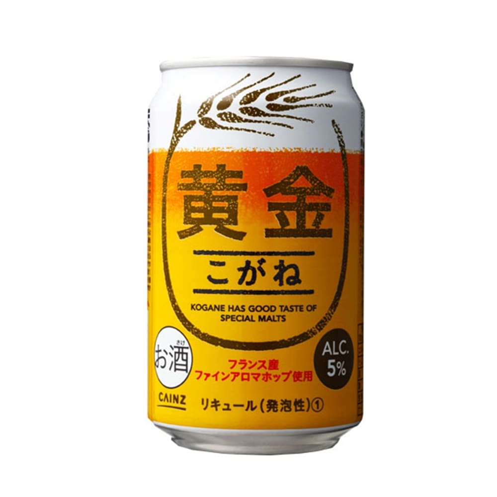 【ケース販売】黄金 330ml×24缶×3ケース [4936695874472×3]【別配送】