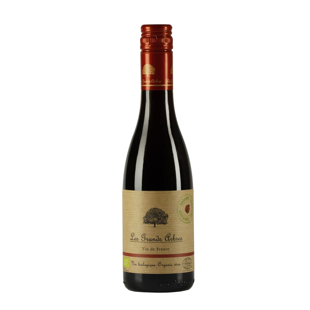 オーガニックワインvs伝統ボルドー飲み比べ ハーフワイン4本セット【別送品】