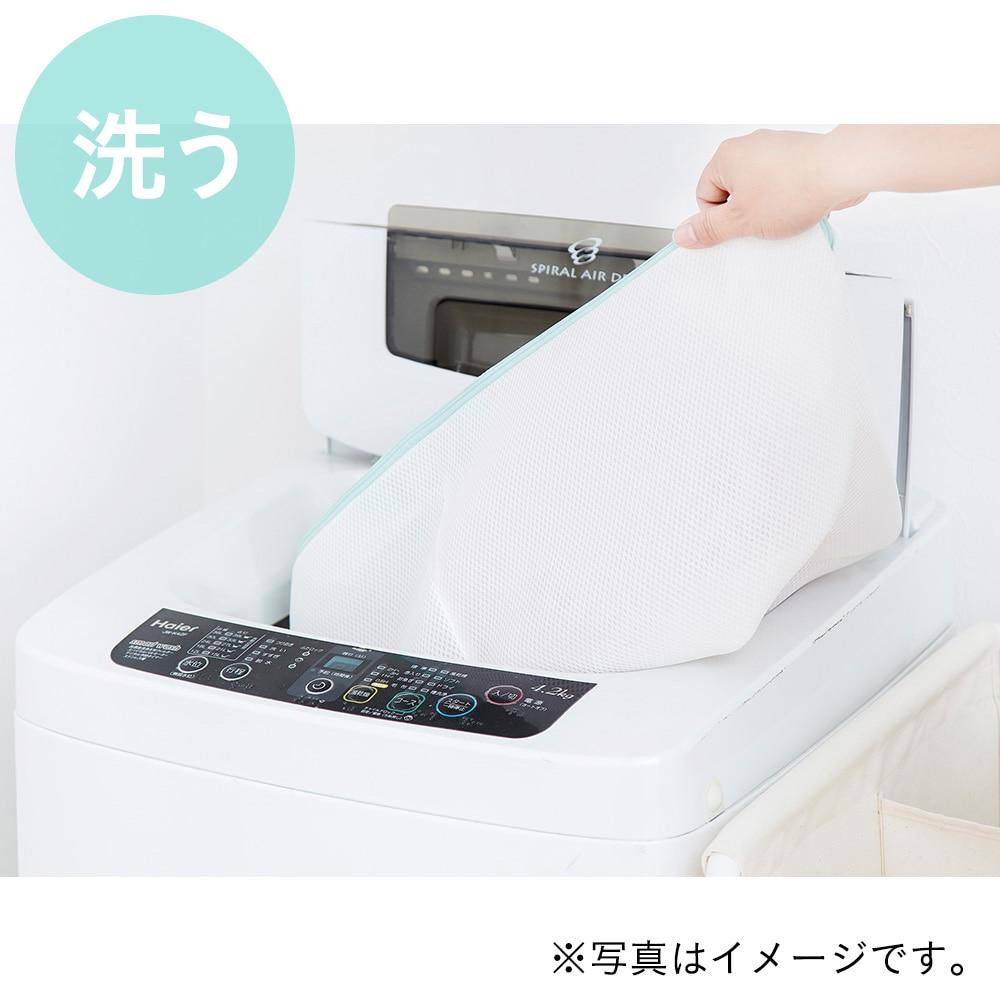 バスケットにもなる洗濯ネット 標準サイズ