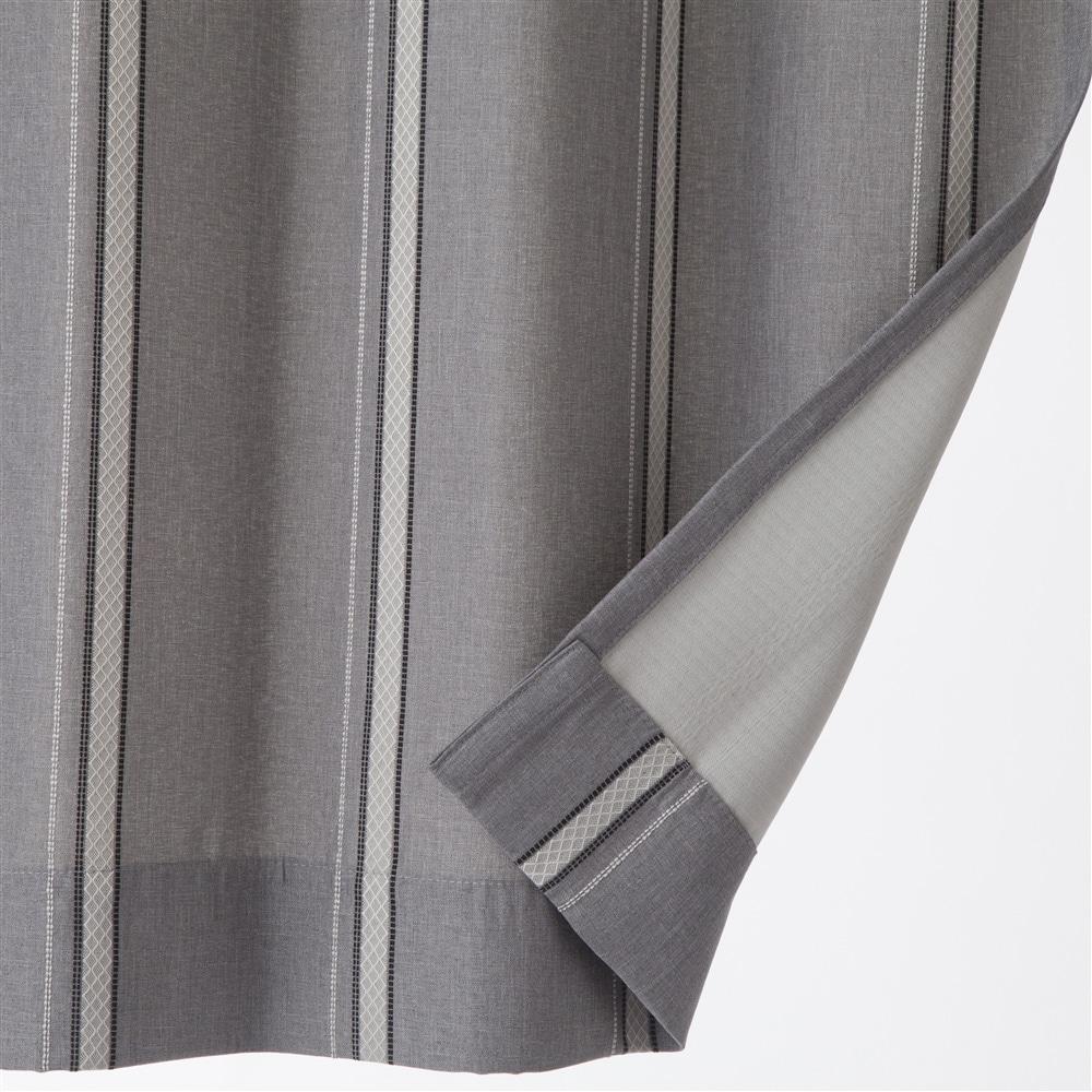4枚組セットカーテン(遮光+遮熱ミラー)ヴェントスライン 150×210cm