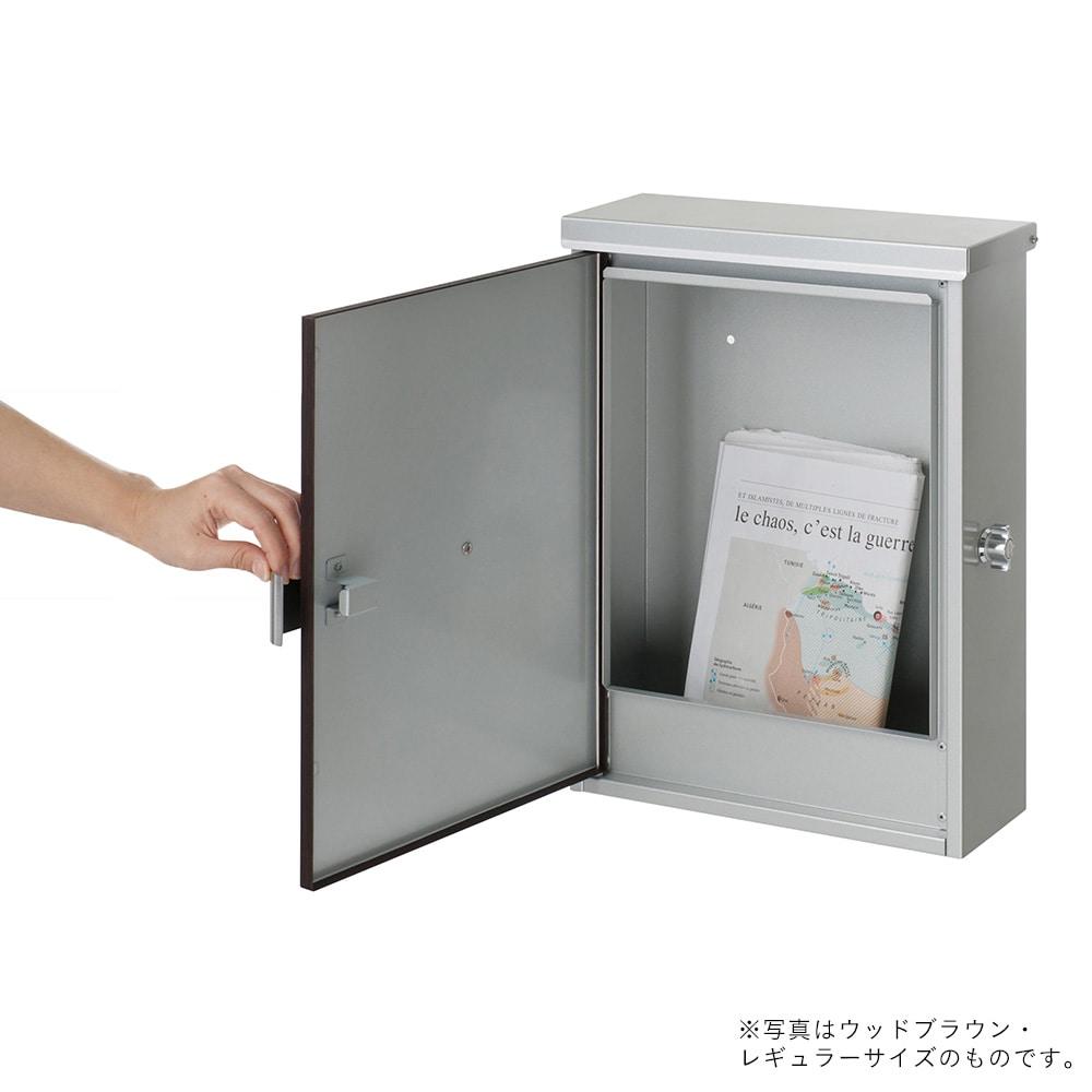 カインズ オリジナル 郵便ポスト レガート レギュラー WH CH-LPR-51【別送品】