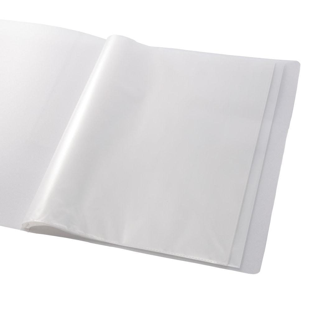 汚れがつきにくいクリアブック A4 10P クリア