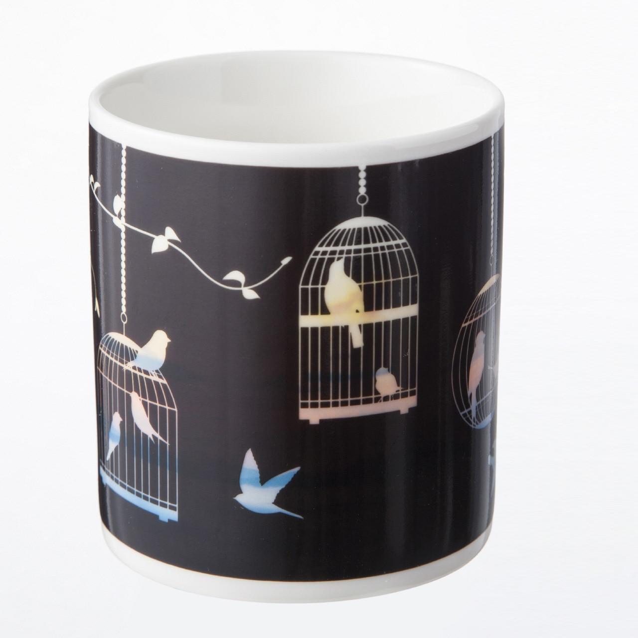 デザインが変わる魔法のマグカップ フライングバード