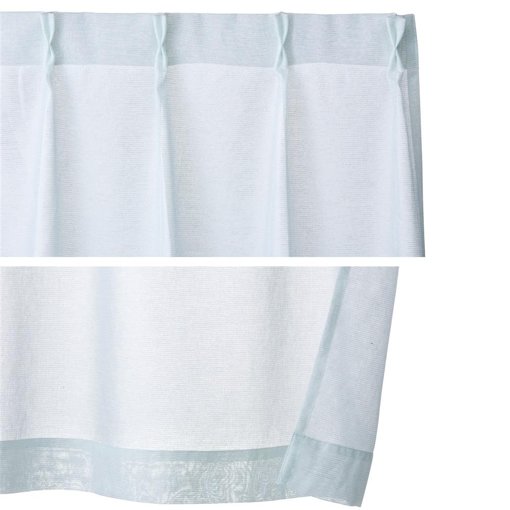 4枚組セットカーテン エデル 100×200 アイボリー