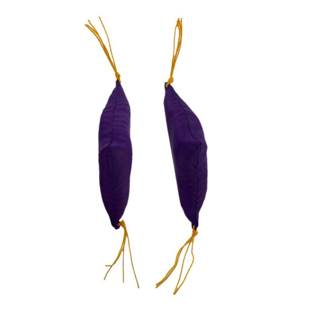 額ふとん 紫