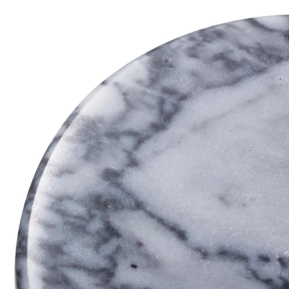 【trv】MARBLEマーブル コースター ホワイトグレー
