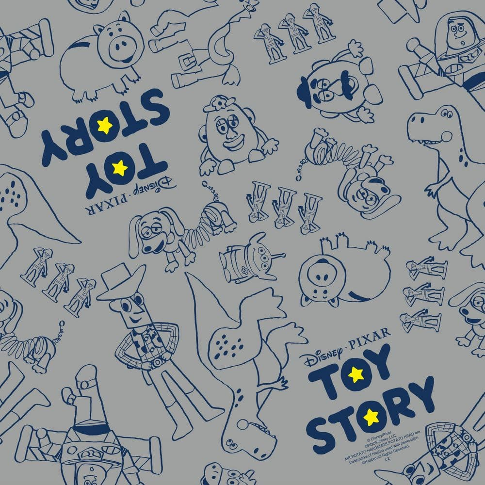 ディズニー 窓フィルム トイストーリー 92cm×90cm