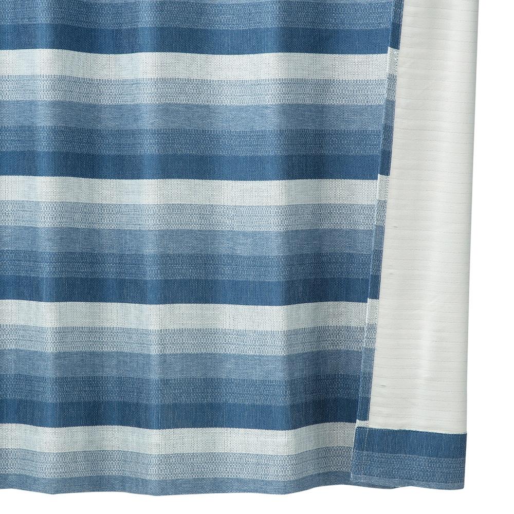 遮光4枚組セットカーテン ブラウボーダー 100×230