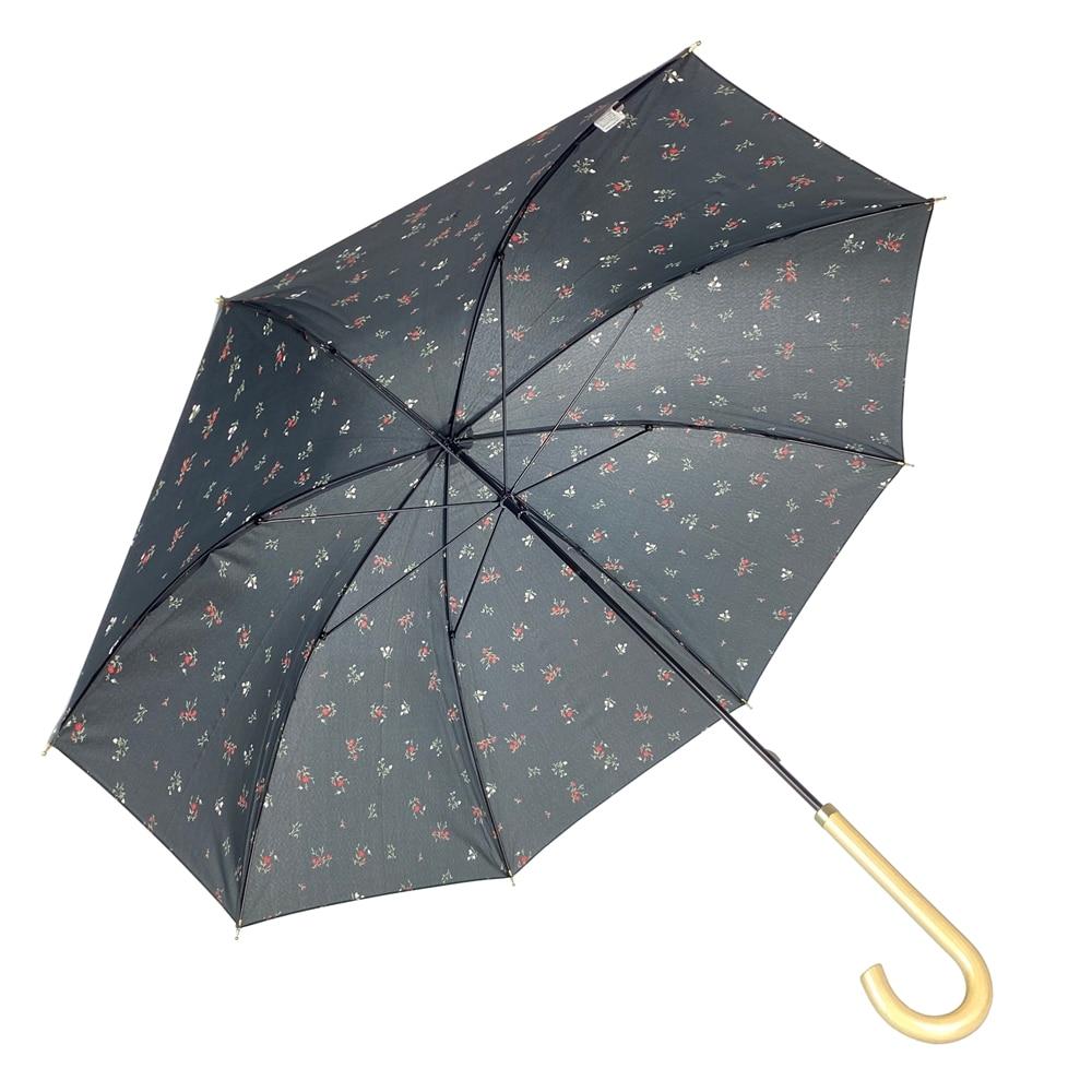 オールシーズン対応長傘 フルーレット 58cm 黒