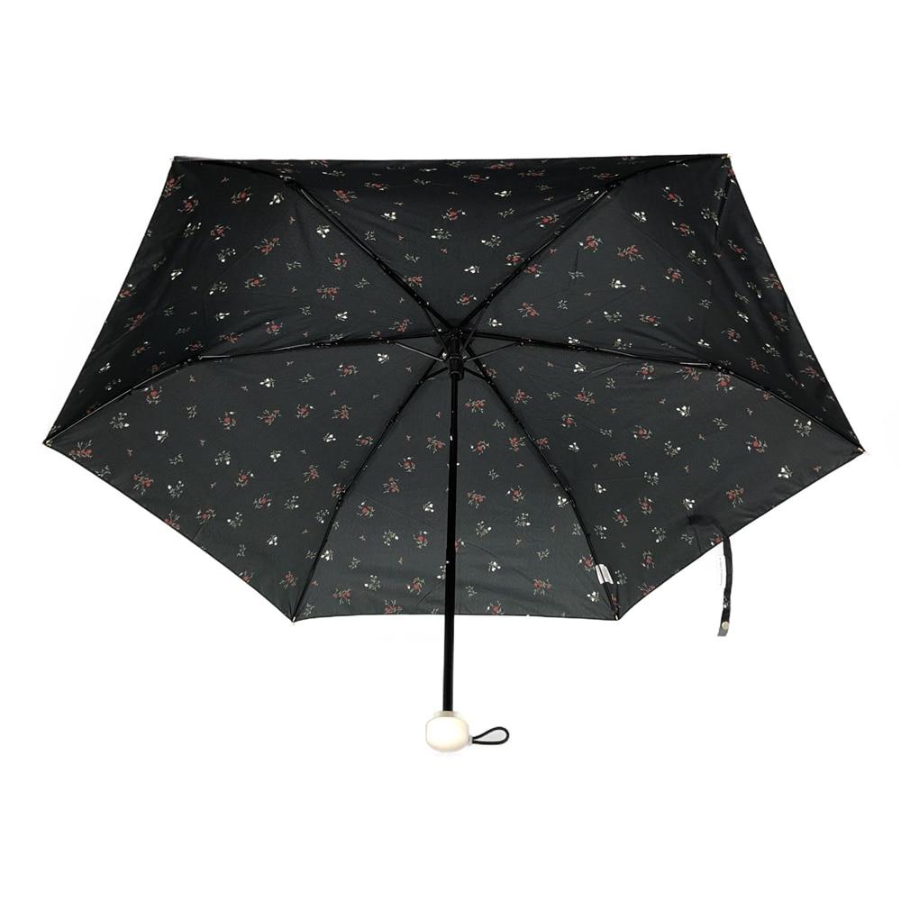 オールシーズン対応折傘 フルーレット 50cm 黒