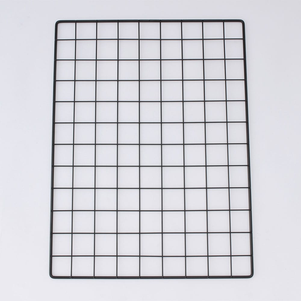 <ワイヤーネット> メッシュパネル 45×60 ブラック T4560B