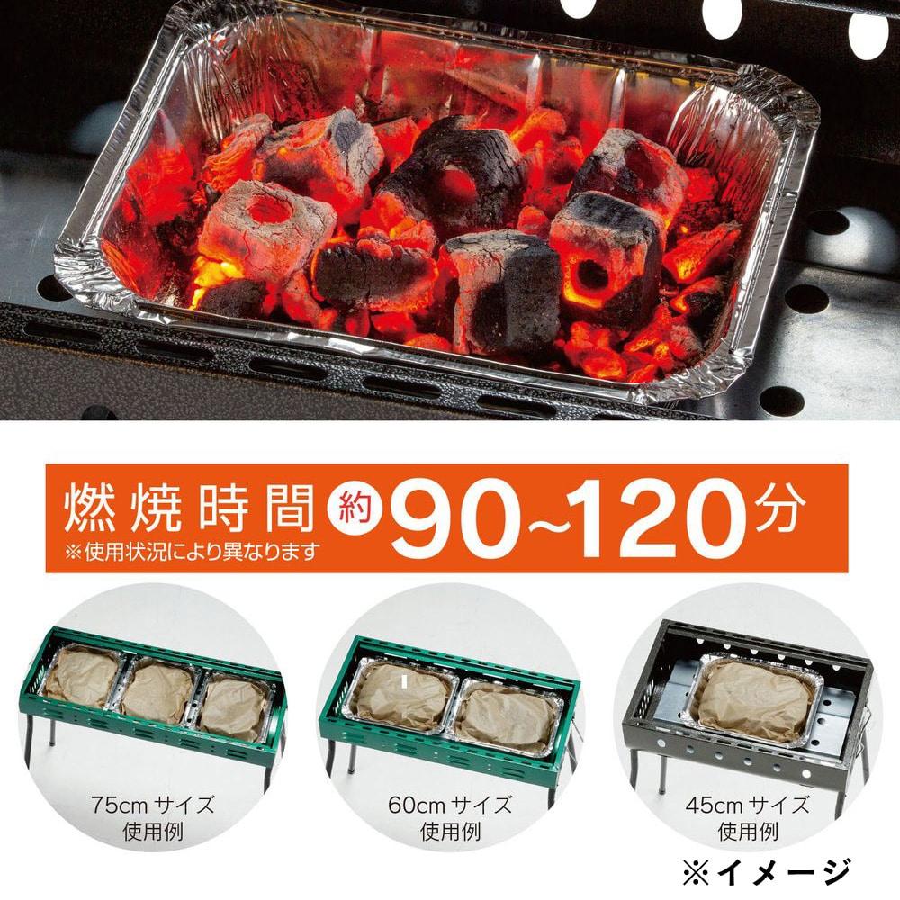 【店舗限定】カワセ BUNDOK 楽々お掃除カバー 着火オガ炭付 BD-484