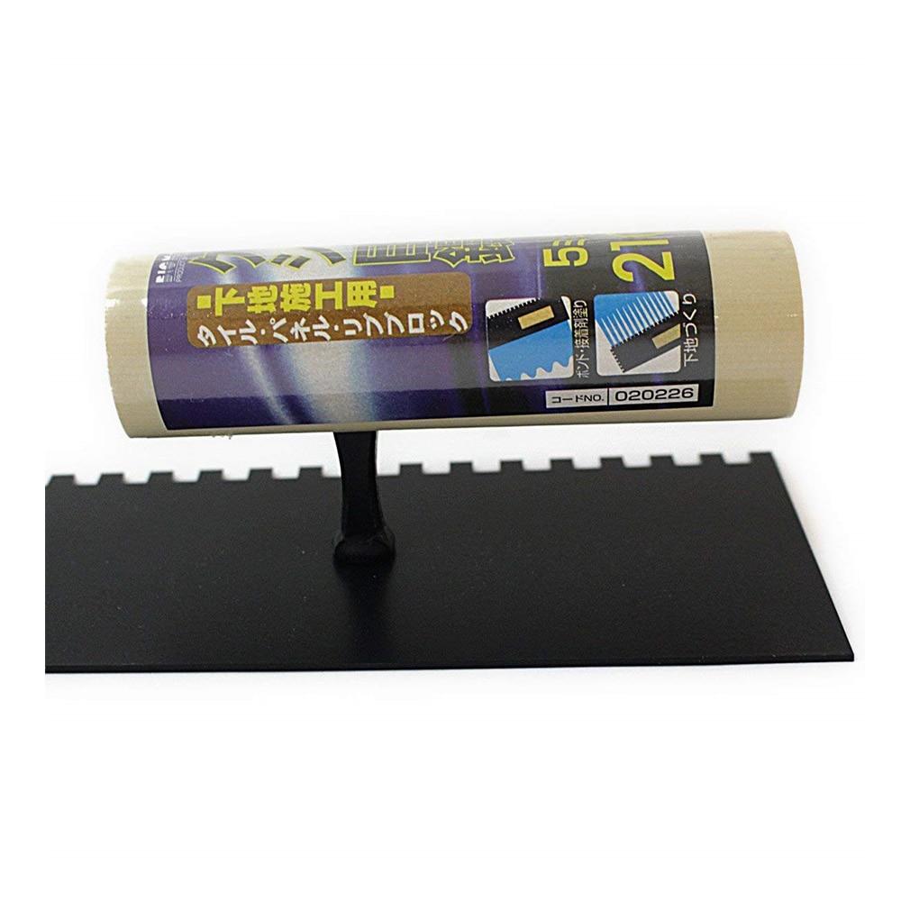 カネヨシ クシ目鏝210コンクリ、ボンド用テフロン