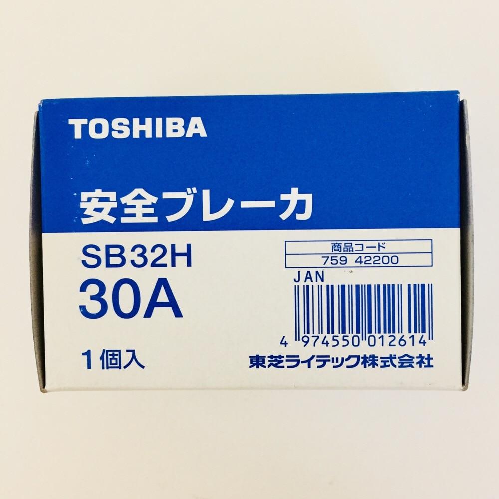 東芝SB32H30A安全ブレーカー100/200V