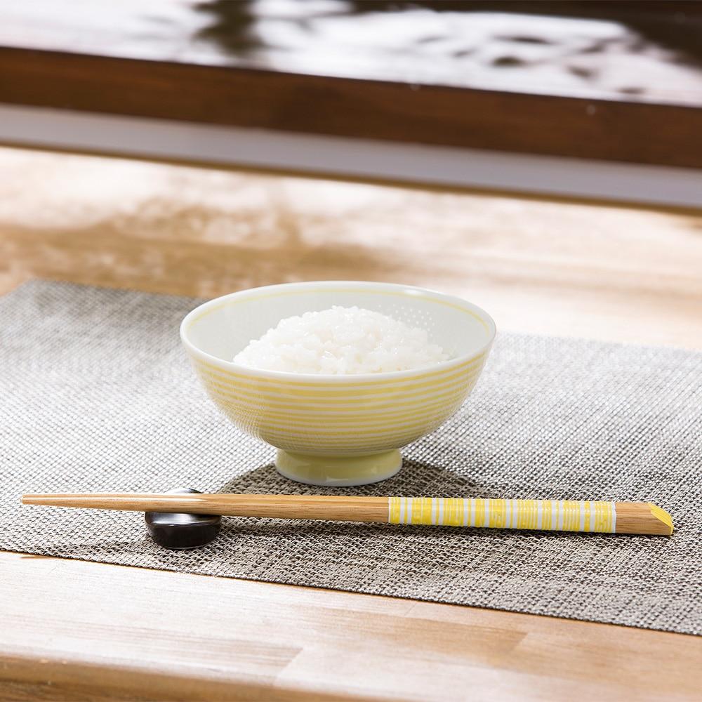 ごはんがつきにくい茶碗 小 ibuki イエロー