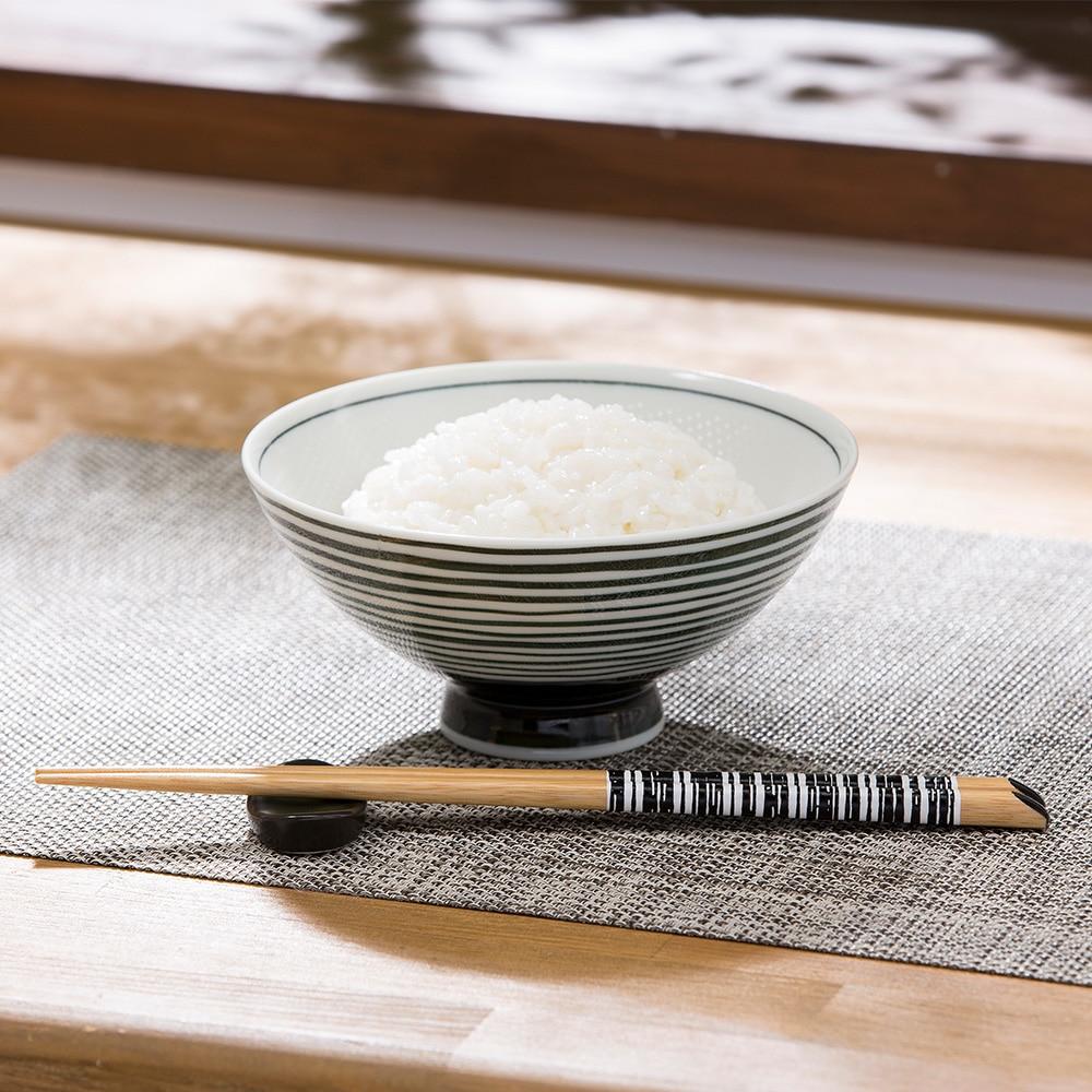 ごはんがつきにくい茶碗 大 ibuki ブラック