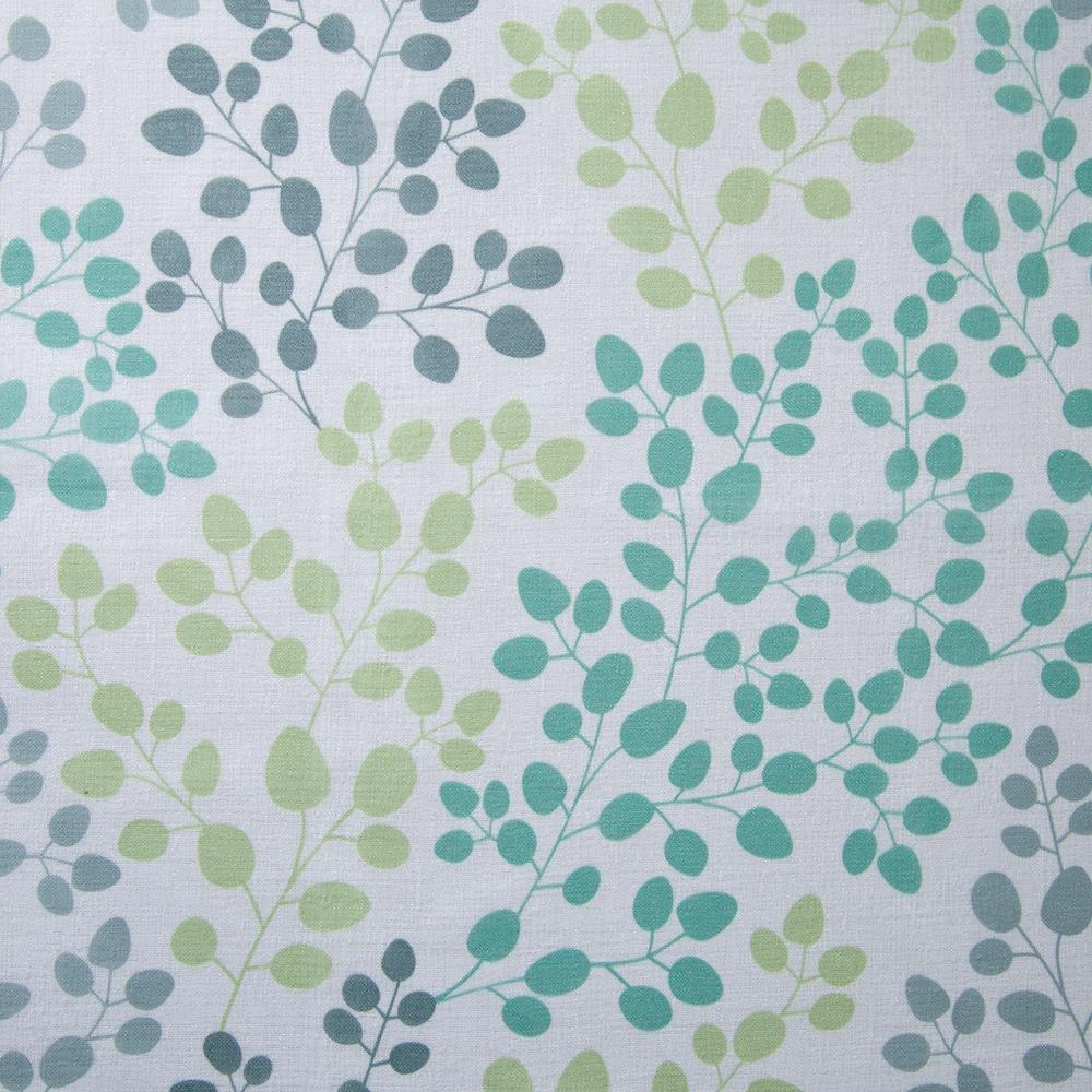 ボイルレースカーテン ガーデン グリーン 100×198 2枚組