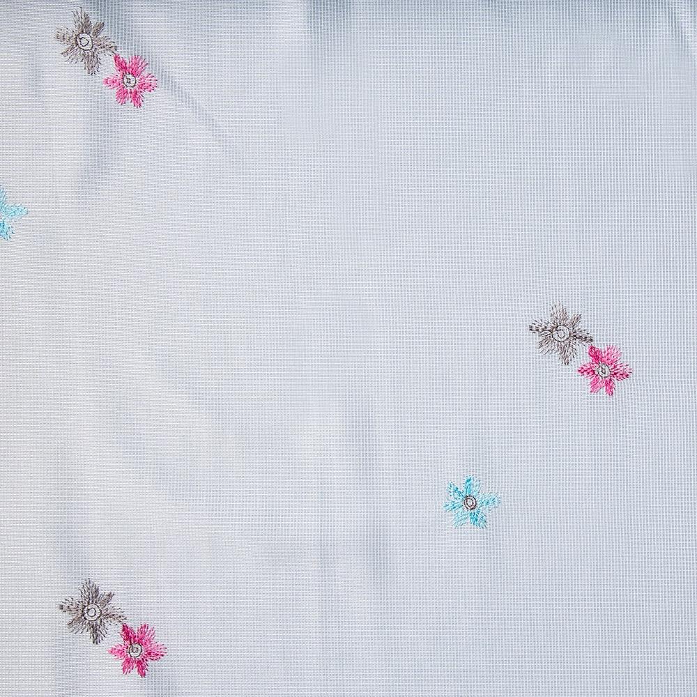 レースカーテン ペティート ピンク 100×175 2枚組