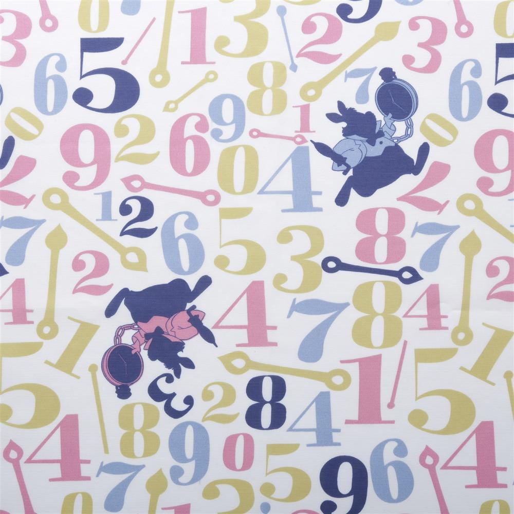 ディズニー レースカーテン 不思議の国のアリス 100×175cm 2枚組【別送品】