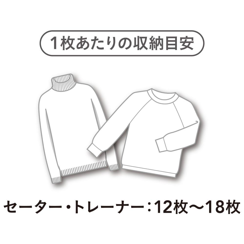 たて・よこ 使える衣類収納袋 スリム