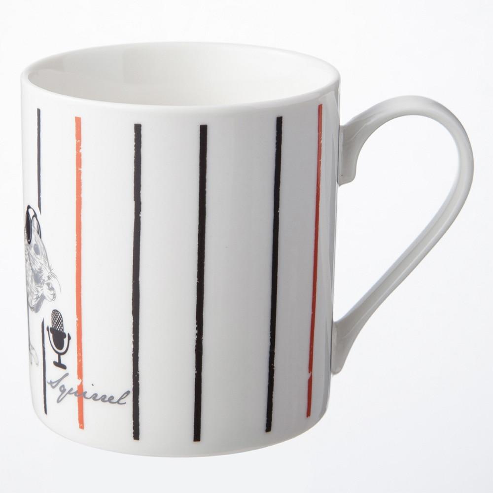 デザインが変わる魔法のマグカップ リス
