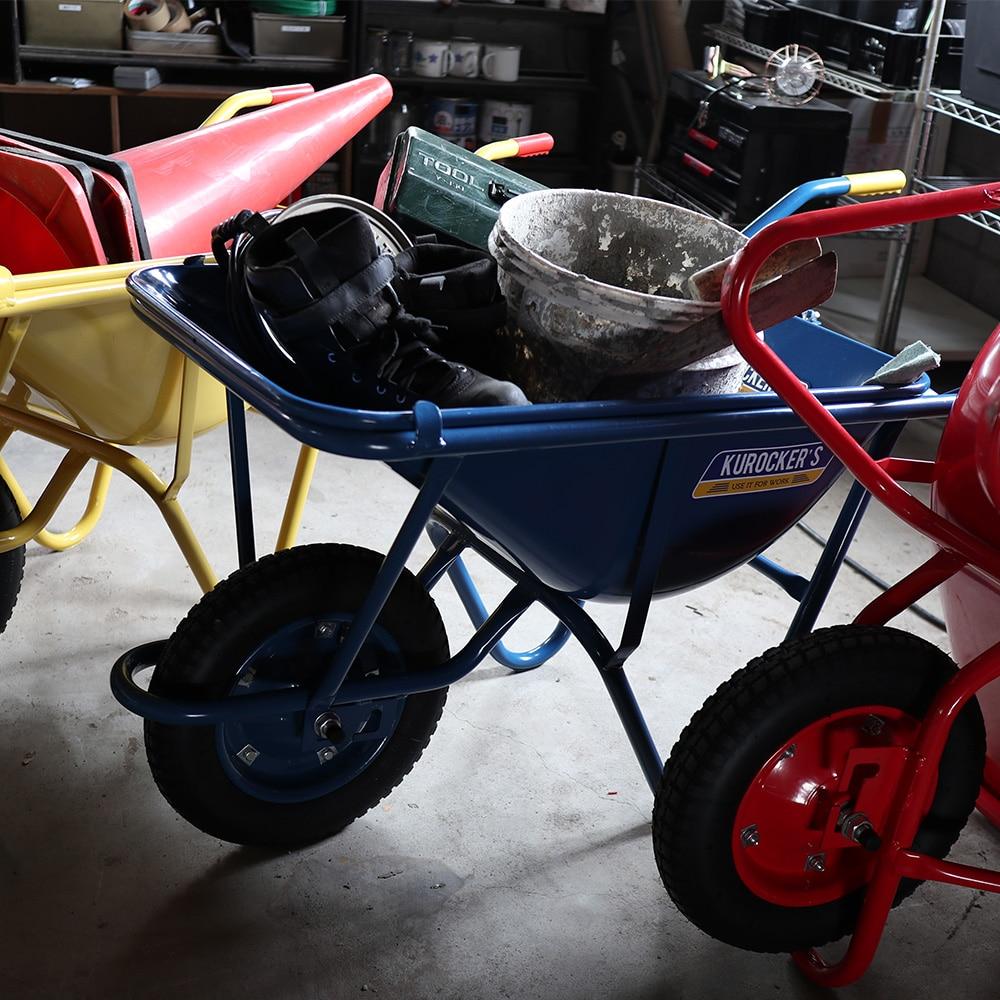 【SU】KUROCKER'S 重心がかえられる一輪車 浅型 ブルー