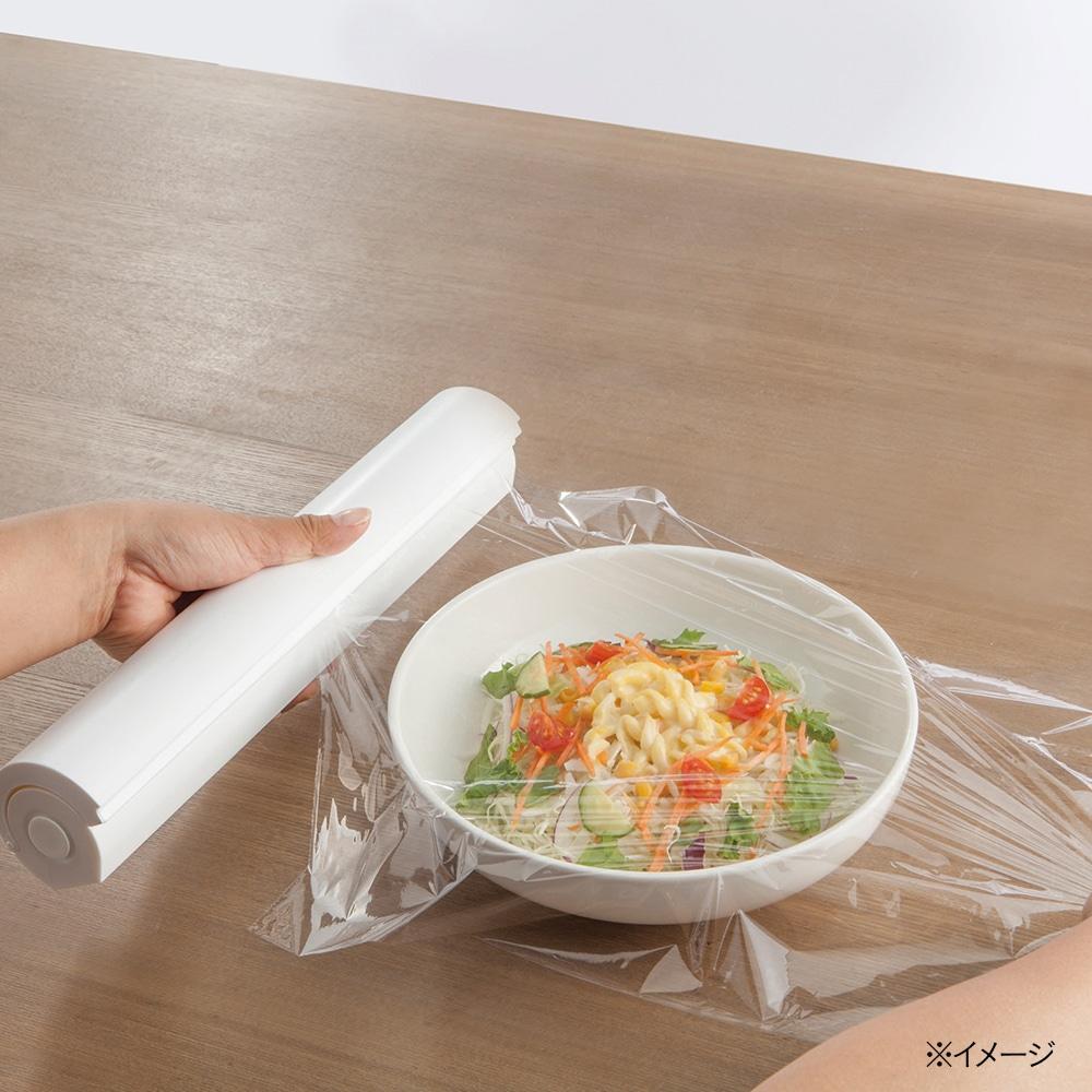 スパッと切れるラップケース ホワイト-N