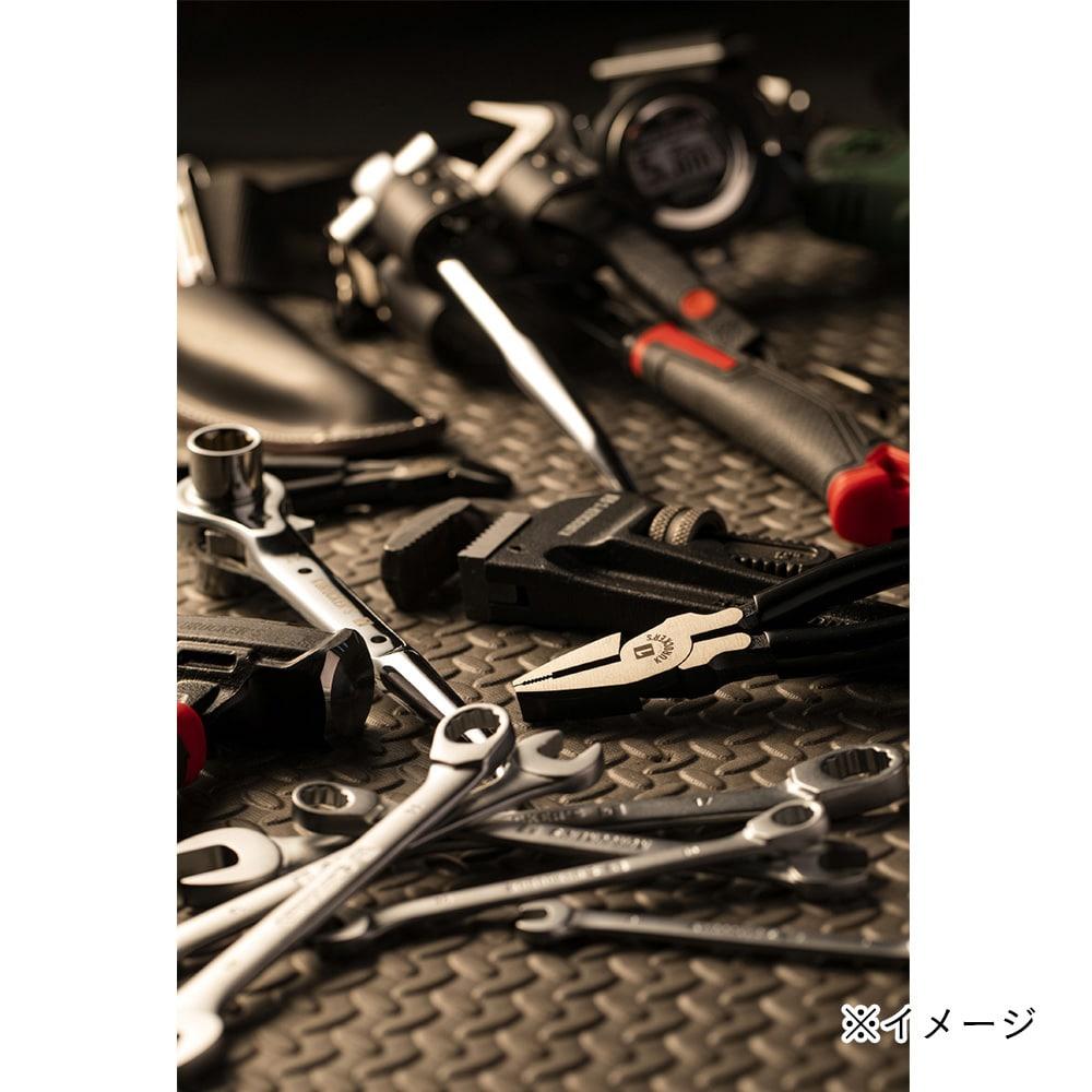 【1年保証付き】KUROCKER'S 偏芯強力ペンチ 175mm