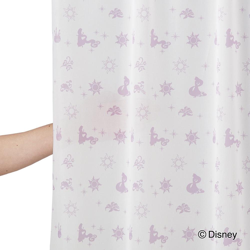 遮光4枚組セットカーテン ラプンツェル 100×210