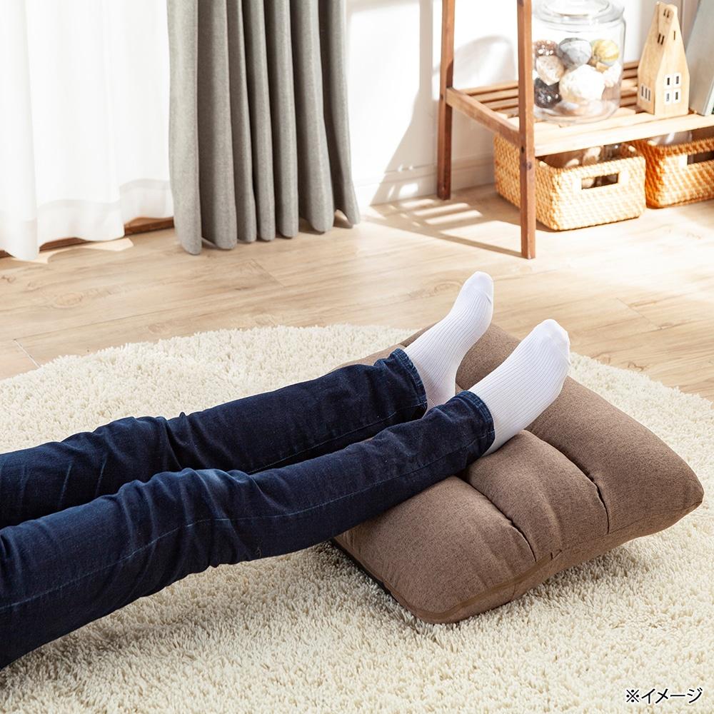 枕にもなる背もたれイス Lepoco ブラウン