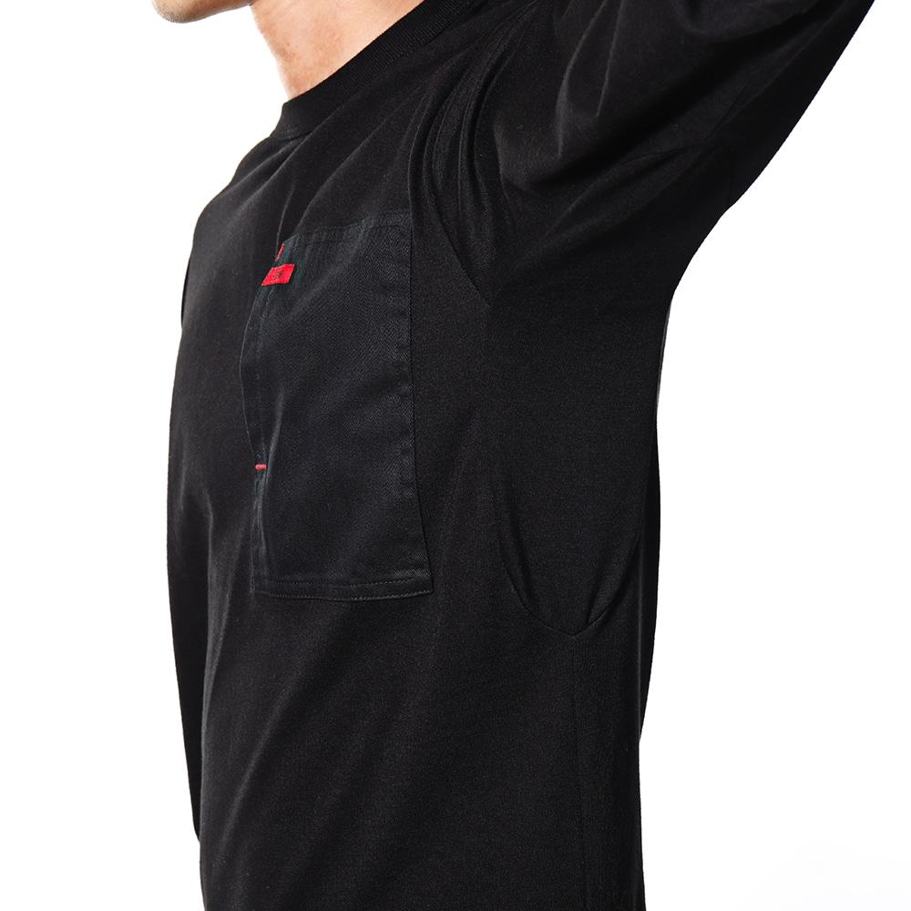 EDW ロングスリーブTシャツ ブラック M