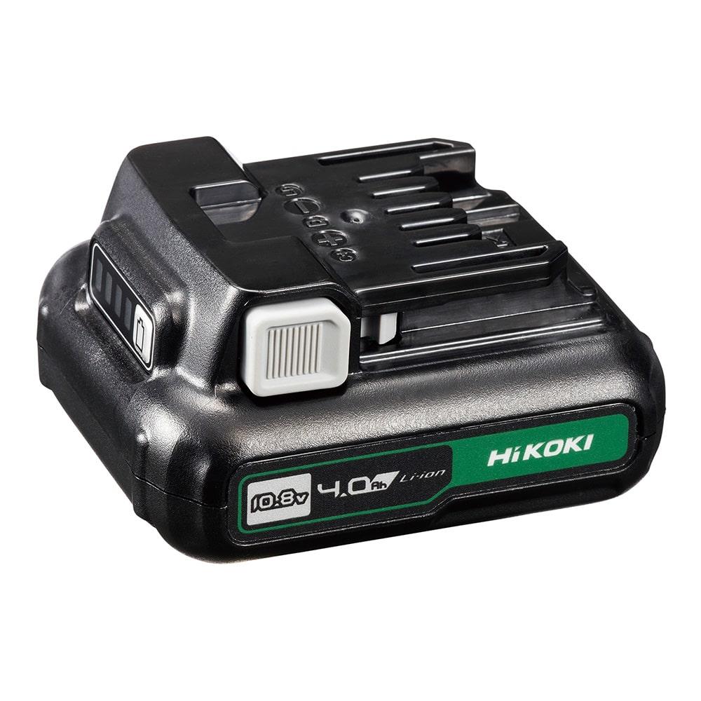 【ネット限定事前予約210609】HiKOKI 10.8V 設備セットVer,1 充電池2個付
