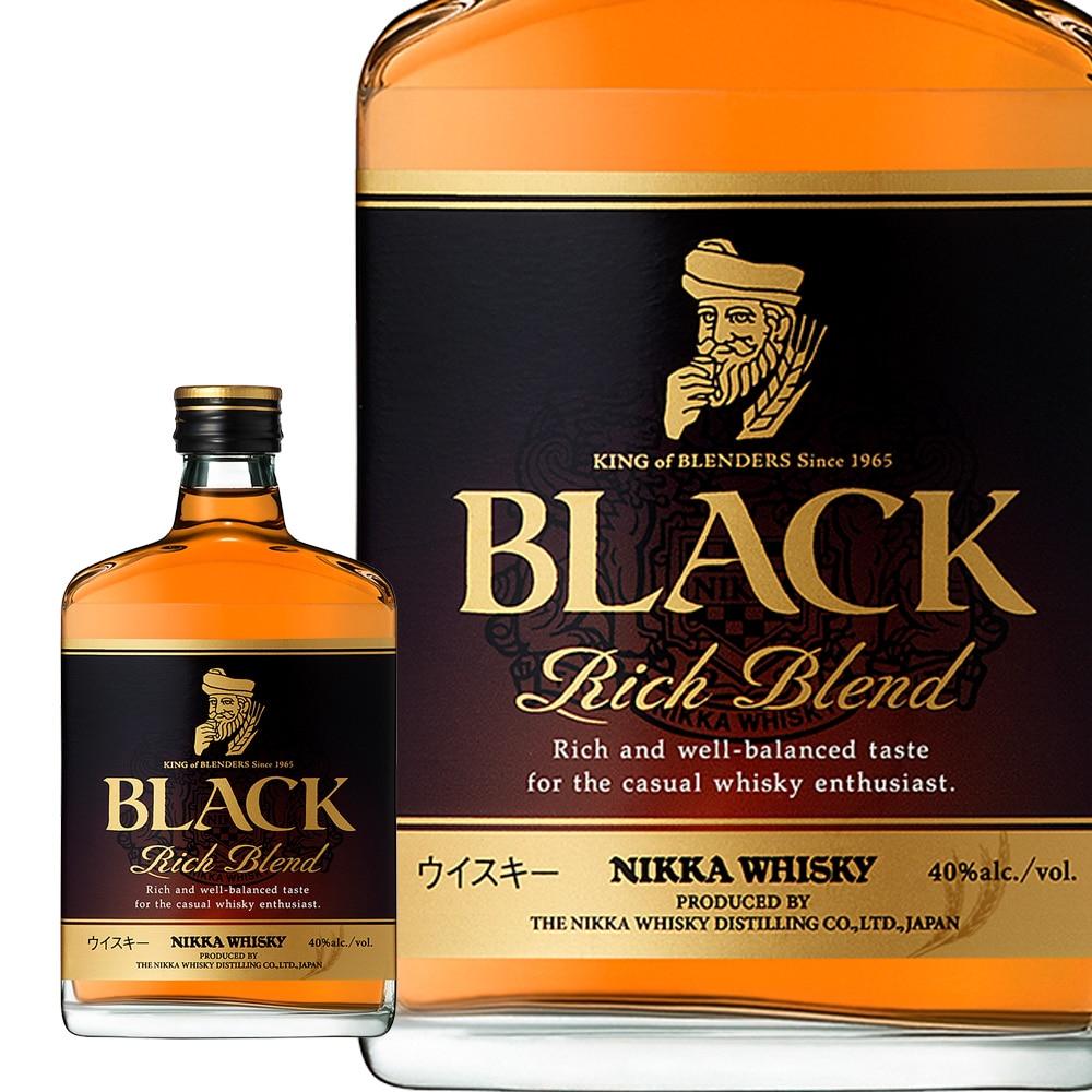 ブラックニッカ リッチブレンンド 180ml【別送品】