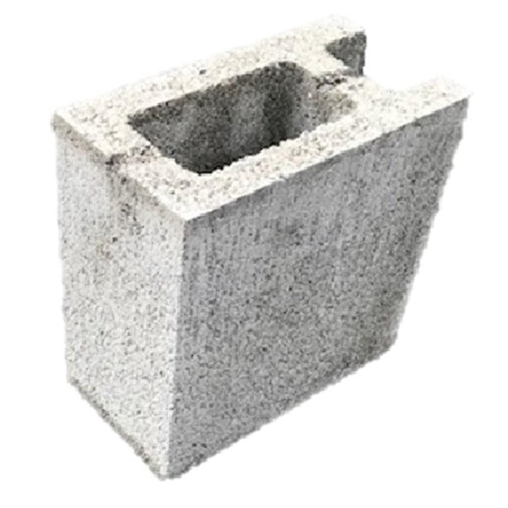【店舗限定】軽量ブロック 10cm 1/2コーナー