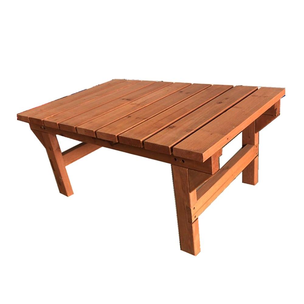 簡単に組立できる木製デッキ 90x58x40CM