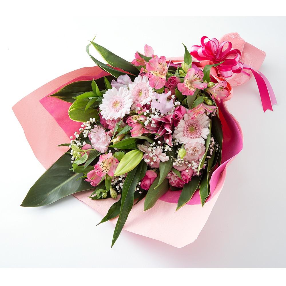 お祝い用花束/ピンク NO.9【別送品】【要注文コメント】