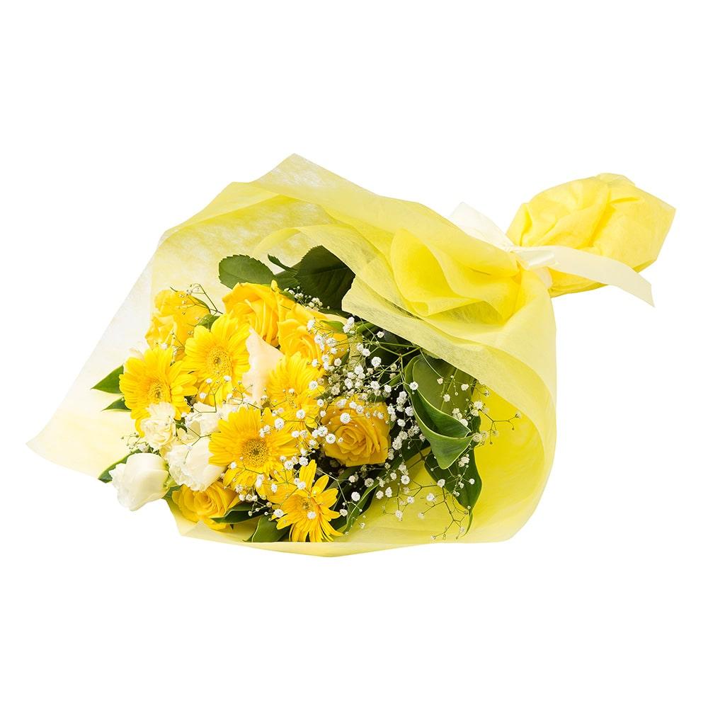 お祝い用花束/イエロー NO.12【別送品】【要注文コメント】