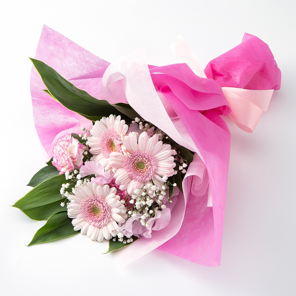 お祝い用花束/ピンク NO.15【別送品】【要注文コメント】