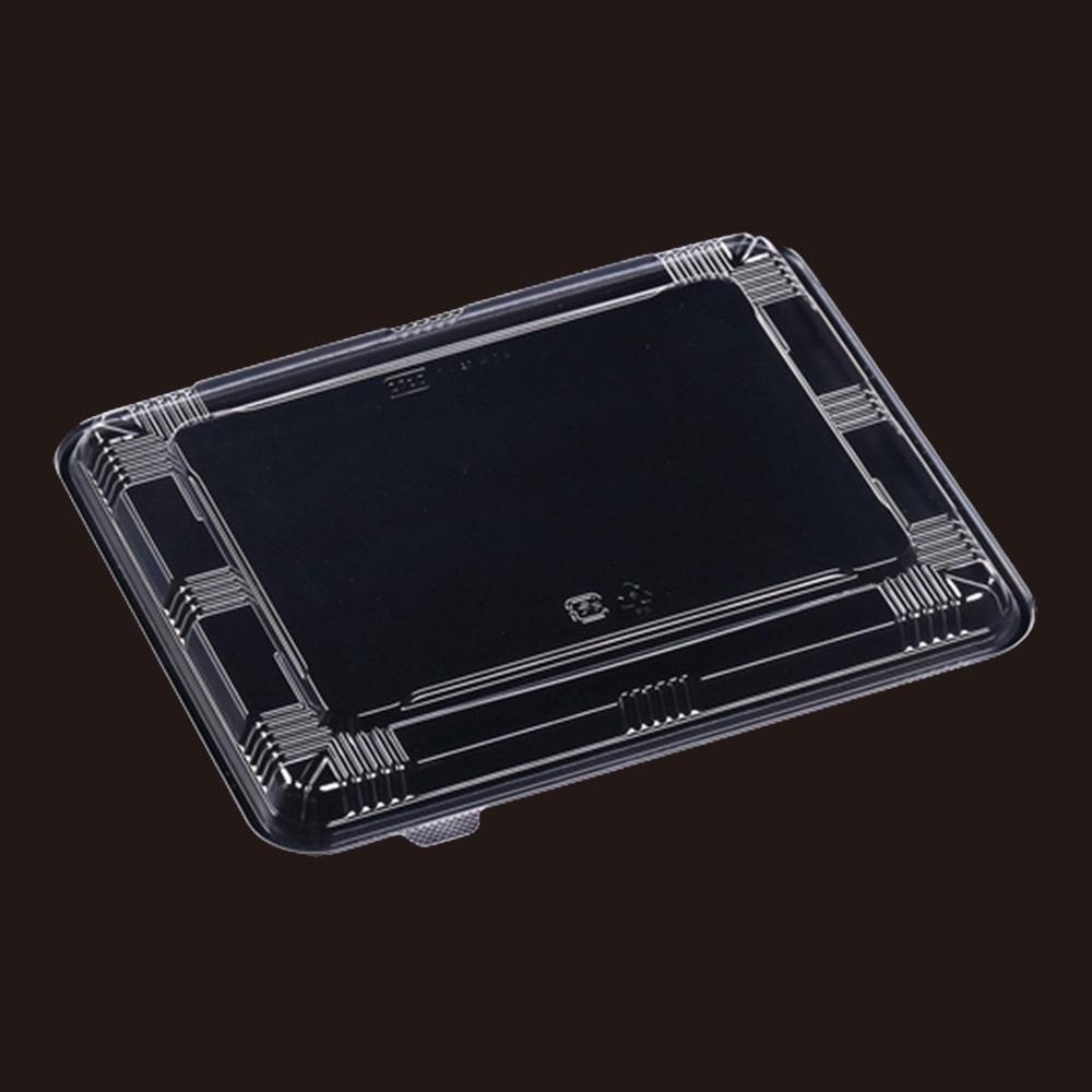 弁当箱(大)フタ 黒 50枚入