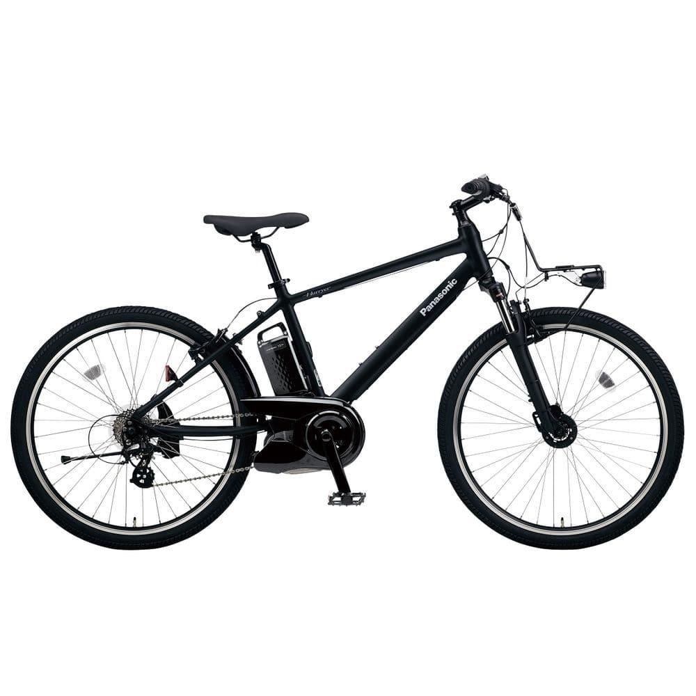 パナソニック 電動アシスト自転車 ハリヤ マットナイト