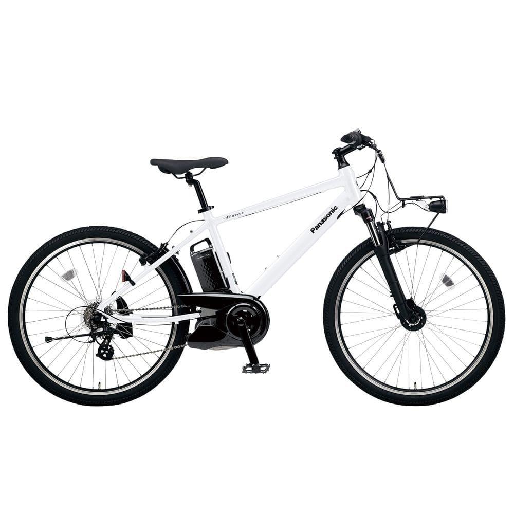 パナソニック 電動アシスト自転車 ハリヤ クリスタルホワイト