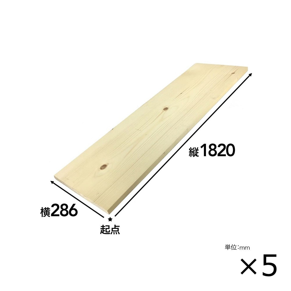 【SU】【ケース販売】SPF材 1×12 6F[4528182100685×5]【別送品】