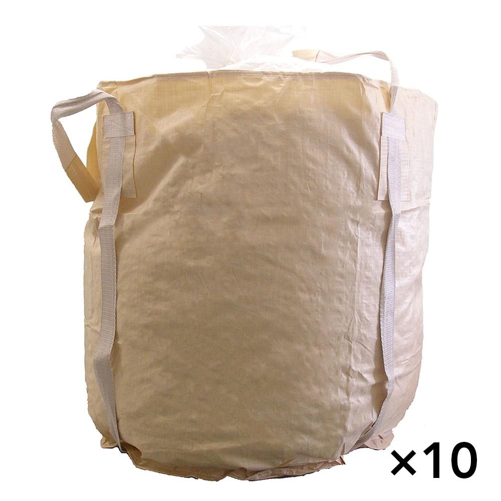 【ケース販売 】フレコンバッグ 丸型 1250KHR(POC)[4965815584762×10枚]【別送品】